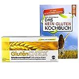 GlutenCHECK Glutenunverträglichkeit zuhause testen + Das kein Gluten Kochbuch