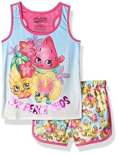 Intimo-Girls-Shopkins-Sporty-Mesh-Pajama-Set