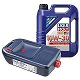 LIQUI MOLY High Tech Motoröl 10W-30 5L 1272 + Ölwechsel Kanister 7055