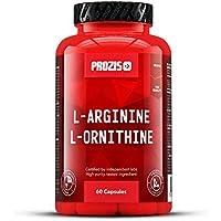 L-Arginine L-Ornithine 500 mg 60 caps