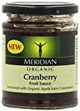 Meridian Organic Cranberry Sauce 284 g (Pack of 6)
