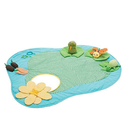 Manhattan Toy lecture avec bassin Multi-sensoriel d'activité Tapis de jeu bébé jouet
