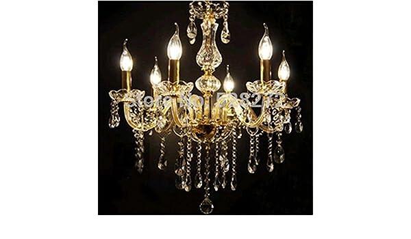 Kerzenlampen Für Kronleuchter ~ Lichter transparenter kristall kronleuchter kronleuchter aus