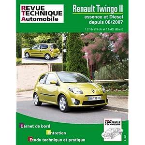 Revue Technique B733 Twingo II 06/2007> Ess 1.2 + 1.5 Dci