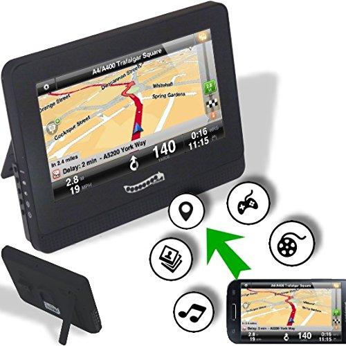 Preisvergleich Produktbild CarBeam Media-Streaming Display Spiegelung von Navigation, Videos, Filme, Bilder usw. per DLNA, AirPlay, Miracast; iOS, Android, iPhone, Samsung etc.