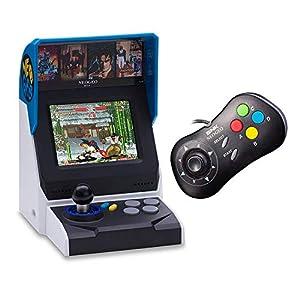NEOGEO Mini Console: International Edition plus NEOGEO Mini Black Controller Bundle (Includes 40 Games)