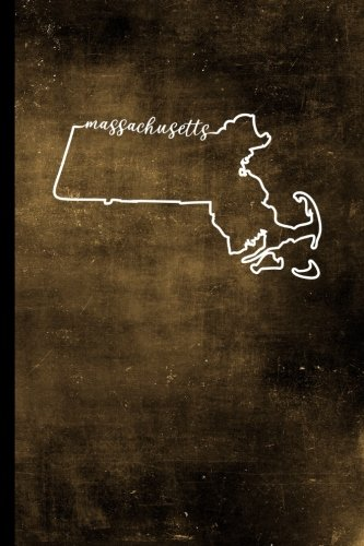 """Massachusetts: 6"""" x 9"""" 