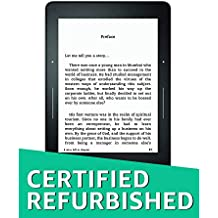 "Certified Refurbished Kindle Voyage 3G - 6"" High-Resolution Display (300 ppi) with Adaptive Built-in Light, PagePress Sensors, Free 3G + Wi-Fi - Black"