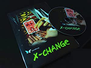MAGIE DES CARTES - TOUR + DVD - X CHANGE