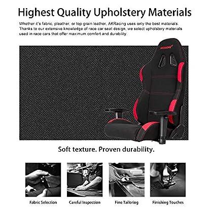 AKRacing EX-Wide PC gaming chair Upholstered padded seat – Sillas para videojuegos (PC gaming chair, PC, 150 kg, Upholstered padded seat, Upholstered padded backrest, Racing)