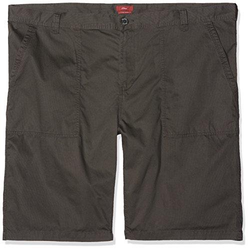 s.Oliver Big Size Herren Shorts Grau (Tech Grey 9652 9652)