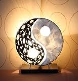 Asiatische Tischleuchten Yin Yang Nature XS (LA12-31/NA/XS), Tischlampen, Designer Stimmungsleuchten, Bali