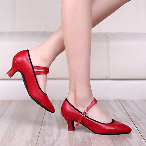 Miyoopark ,  Damen Tanzschuhe Red-6cm Heel
