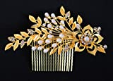TIED RIBBONS Crystal Comb Hair Clip Hair Jewellery for Girls, Brides, Parties, Proms, Wedding