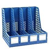 Dokumenten-Management-Rack Vierfach-Dateikasten Aus Kunststoff Informationsrahmen Dateibalken Aktenhalter Bürobedarf