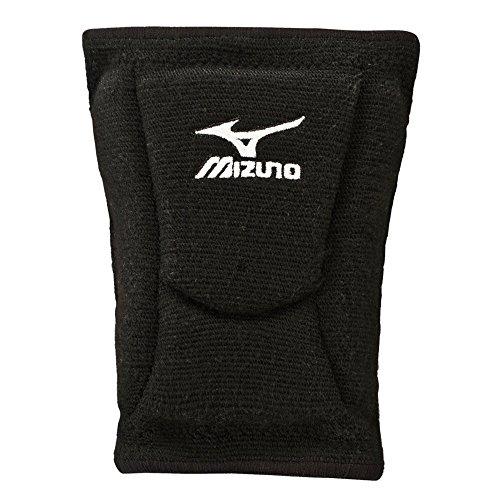 Mizuno LR6rodilleras de voleibol, color negro, tamaño Medium