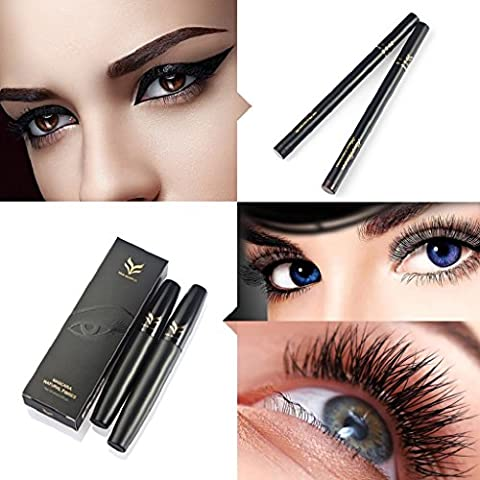 LHWY 2017 2Pcs Maquillage Liquid eye liner stylos outil +