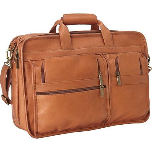 le-donne-leather-expandable-multi-function-brief-tan