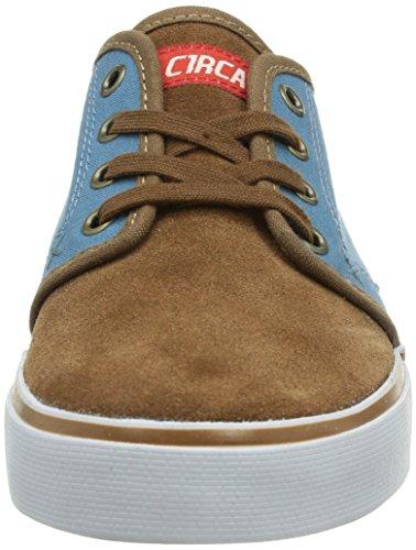 C1RCA DRIFTER CDRFHDPB Unisex-Erwachsene Sneaker Braun (Hide/Provencial Blue)