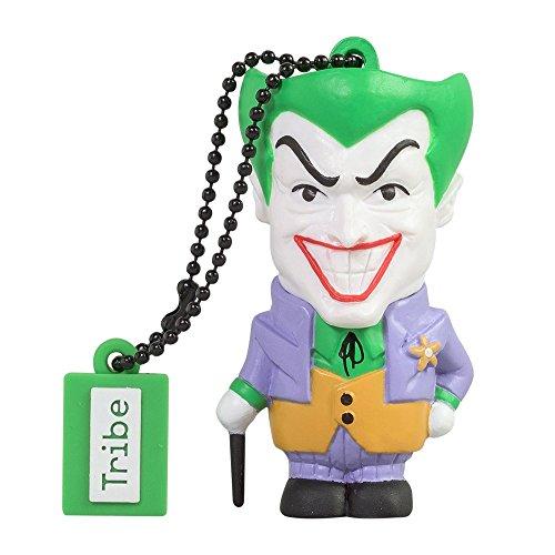 Tribe-DC-Comics-Action-Figure-Joker-Chiavetta-USB-da-8-GB-Pendrive-Memoria-USB-Flash-Drive-20-Memory-Stick-Idee-Regalo-Originali-Figurine-3D-Archiviazione-Dati-USB-Gadget-in-PVC-con-Portachiavi-Multic