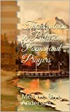 Thankfulness in Pictures, Poems and Prayers