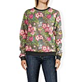 Clothing : Tropical Vintage Florals Sweatshirt Sweater