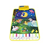 Goolsky Musik Play Mat Lernen Singen Teppich Keyboard Klavier Blanket Touch Spielen Sound Baby Early Education Kinder Geschenk
