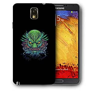 Snoogg Ugly Fish Designer Protective Back Case Cover For SAMSUNG Galaxy NOTE 3