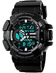 Upto 85% Off On Skmei Chronograph Analogue Digital Sport Men's Watches low price image 11