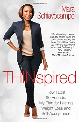 Thinspired: How I Lost 90 Pounds -- My Plan for Lasting Weight Loss and Self-Acceptance by Mara Schiavocampo (2014-12-30)
