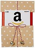 Carte cadeau Amazon.fr - €30 - Dans un étui de Noël Kraft