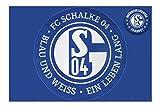 Close Up FC Schalke 04 XL Teppich