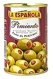 La Española - Aceitunas Verdes Rellenas De Pasta De Pimiento