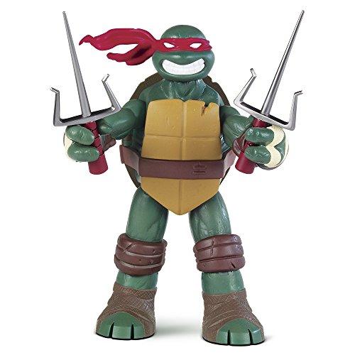 Tortugas Ninja - Figura Battle Shell Raph (Giochi Preziosi 95008)