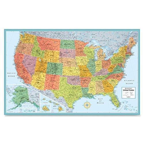 21 Off On Rand Mcnally Usa Wall Map Ran528959999 On Amazon