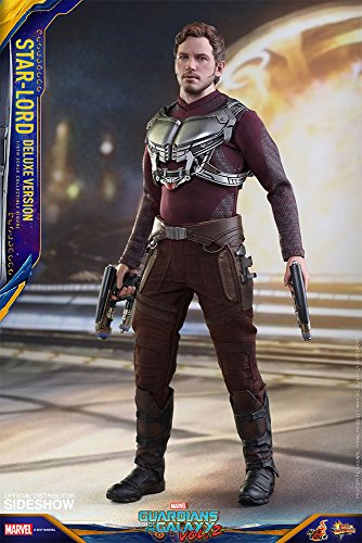 (Hot Toys Guardians of The Galaxy Vol 2 Series Star Lord Deluxe Version  Aktionfigu)