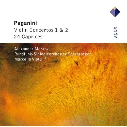 Paganini : 24 Caprices Op.1 : No.18 in C major
