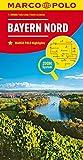 MARCO POLO Karte Deutschland Blatt 12 Bayern Nord 1:200 000: Wegenkaart 1:200 000 (MARCO POLO Karten 1:200.000)