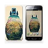 Coque Samsung Galaxy S5 mini de chez Skinkin - Design original : Totoro par Victor's Beard