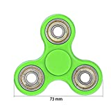 #5: Fidget Spinner Tri-Spinner Shakes Toy Plastic EDC Sensory Fidget Spinner For Autism And Children With ADHD / Adult Funny Anti Stress Toys (Green)