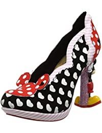 Irregular Choice Minnie Mouse - Tacones Mujer