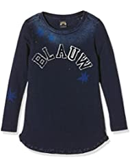 Scotch R'Belle Longer Length Indigo Tee L/s, T-Shirt Fille