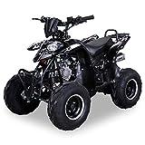 Kinder Quad S-5 Polaris Style 125 cc Motor Miniquad 125 ccm schwarz Razer
