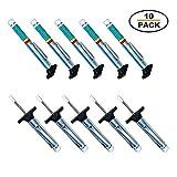 Godeson 88702Smart farbig Reifen Profiltiefenmesser (10Pack)