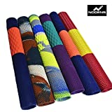 Nodens Cricket Bat Grip, (Multicolour Pack of 6)