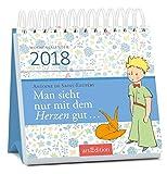 Man sieht nur mit dem Herzen gut 2018: Mini-Kalender - Antoine de Saint-Exupéry