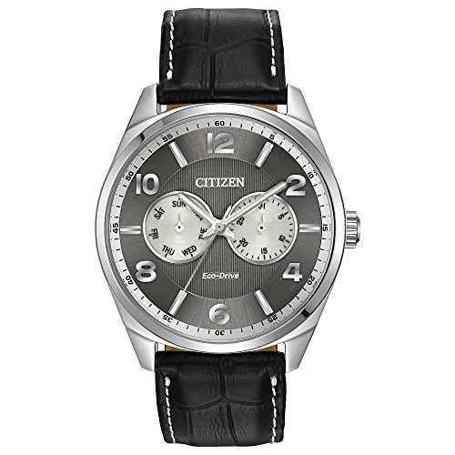 citizen-watch-mens-quartz-watch-with-grey-dial-analogue-display-and-black-leather-strap-ao9020-17h
