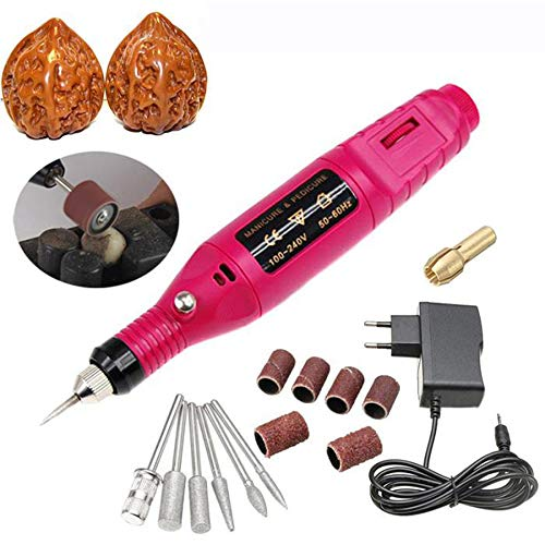 15 Teile/Satz DIY Schnitzen Werkzeug Elektrische Mini Grinder Carving Maschine Gravur Gravierstift für Schmuck Metall Glas Heißer - Maschine Stein Carving