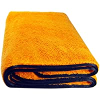 44WG Watergate super-absorbent microfibre car drying cloth, orange, microfibre cloth for car care, 90x60 cm - ukpricecomparsion.eu