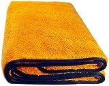 Orange Baby 44WG Watergate super-saugfähiges Mikrofaser Auto Trockentuch, Microfasertuch f. Autopflege, 90x60 cm